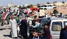 النشرة: مئات العائلات السورية عادوا إلى منازلهم في بلدة مورك بريف حماة الشمالي