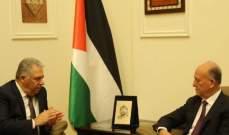 ريفي: كرامة وأمن الفلسطينيين ومعيشتهم لا تتعارض مع المصلحة اللبنانية