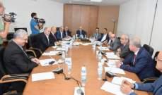 لجنة الصحة النيابية ناقشت تنظيم العمل في سوق الدواء