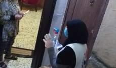 """الهيئة الصحية الإسلامية نفذت حملة من """"بيت ل بيت"""" بالمية ومية في صيدا"""