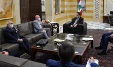 سفير مصر أبلغ دياب رغبه بلاده بعقد اجتماع لوزراء الخارجية العرب في 2 آذار المقبل