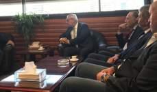 فهد بحث مع أبو سعيد شؤونا حقوقية محلية ذات طابع دولي