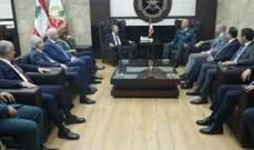 """قائد الجيش التقى باسيل على رأس وفد من تكتل """"لبنان القوي"""""""