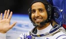 عودة أول رائد فضاء إماراتي إلى الأرض بعد مهمة استمرت ثمانية أيام