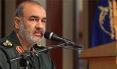 قائد الحرس الثوري الايراني: اميركا تزعزت ركائزها في المنطقة