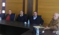 مجموعة غاردينيا غران دور استضافة لقاء صناعيا بطلب من رئيس تجمع الصناعيين في البقاع