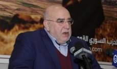 مصطفى حمدان: قائد الجيش يثبت القدرة الكبيرة في تحمل المسؤولية الوطنية