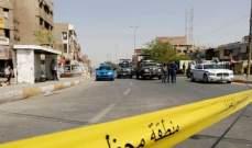 إصابة 13 عنصرا بانفجار في مخزن للأسلحة في بغداد