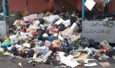 """النشرة: اضراب لعمال جمع النفايات في وكالة """"الاونروا"""" في عين الحلوة"""