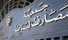 جمعية المصارف رحبت بتوجهات سلامة: الاستقرار السياسي يساهم بعودة الأمور لطبيعتها