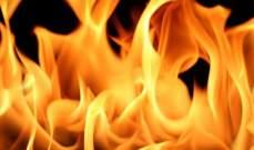 النشرة: حريق في إحدى قباب السراي الشهابية بحاصبيا نتيجة المفرقعات النارية