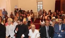 قداس وريسيتال ديني في عيد السيدة في المختارة