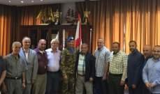 قائد القطاع الغربي لليونيفيل التقى رؤساء بلديات إتحاد قضاء بنت جبيل