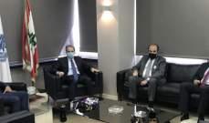 وزني التقى رئيس مجلس الإسكان ووفدا من تكتل الجمهورية القوية