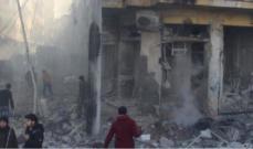 مقتل 5 مدنيين في قصف روسي على إدلب
