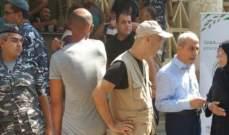 خير قدم مساعدات لأصحاب وشاغلي البسطات المتضررين من حريق جسر نهر ابو علي