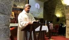 قداس في دير مار سركيس وباخوس في اهدن لمناسبة عيد الصليب