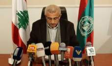 """أسامة سعد لـ""""النشرة"""": نرفض الموازنة وتوجهاتها وندعو كل القطاعات المتضررة إلى تصعيد تحركاتها"""