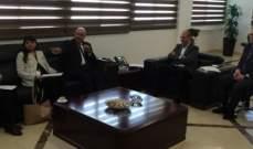سبل مواجهة أزمة كورونا في لقاء بين وزير الصحة ووفد من البنك الدولي