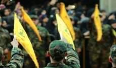 """أ ف ب: مصادر مقربة من """"حزب الله"""" تنفي وقوفه وراء إطلاق صواريخ من لبنان على إسرائيل"""
