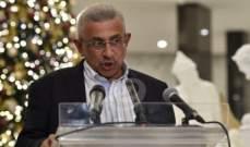 سعد: لحكومة انتقالية مستقلة قادرة على إنقاذ لبنان وتجنيبه الإنفجار والفوضى