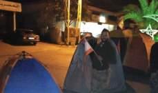 نصب خيم للاعتصام في بلدة العيون ولا قطع للطرقات في الجومة