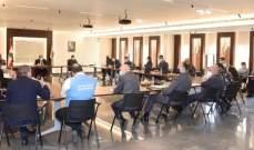 اجتماع للجنة الطوارئ لرفع حالة التأهب بالسجون لمتابعة الاجراءات المتخذة للحد من تداعيات انتشار كورونا