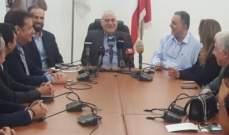 جبق: سنوقع على مذكرة تفاهم مع العراق لتسويق الدواء اللبناني