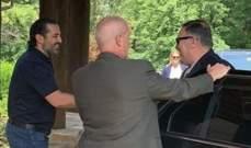 الحريري استقبل بومبيو في مزرعته قرب واشنطن