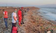 غرق طفل على شاطىء قبة شمرا بسبب التيارات البحرية والبحث جار عنه