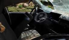 سانا: ضبط سيارة مفخخة بألغام إسرائيلية على طريق دمشق درعا