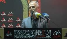 فنيش: لا يمكن أن نقبل عدواناً اسرائيليا على بلدنا دون أن يجابه برد