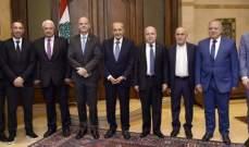 بري استقبل رئيس الاتحاد الدولي لكرة القدموالنائب واكيم وتوفيق سلطان