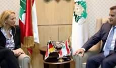 اللواء ابراهيم التقى قائدة شرطة برلين وممثل الأمين العام للأمم المتحدة