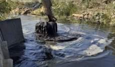 مصادر وزارة الأشغال للنشرة: كنا ولا نزال نقوم بتنظيف مجاري الانهر والاقنية