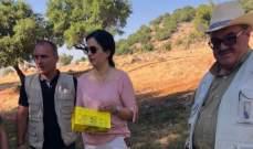 وزارة الزراعة اطلقت حملة مكافحة مرض جاذوب السنديان في عميق والجوار