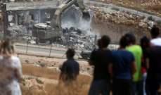 العفو الدولية: هدم اسرائيل للمنازل بوادي الحمص انتهاك للقانون الدولي