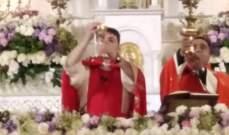 خادم رعية بقاعكفرا ترأس قداسا الهيا بمناسبة عيد سيدة الانتقال