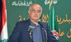 علي خليل: لا يكفي ادانة اعتداءات اسرائيل بل المطلوب موقف وطني جامع