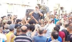 النشرة: استمرار الاحتجاجات السلمية في عين الحلوة رفضا لقرار وزير العمل
