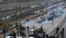 اشتباكات بين المتظاهرين والأمن الإيراني في شيراز ومقتل شرطي