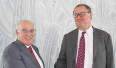 """ابو سليمان بحث مع دوكان مؤتمر """"سيدر"""" والوضعين المالي والاقتصادي"""