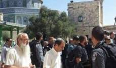 عشرات المستوطنين يقتحمون الأقصى في رأس السنة العبرية