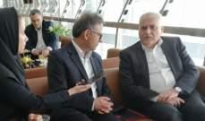 جبق في ايران للمشاركة بالدورة الإقليمية لمنظمة الصحة العالمية
