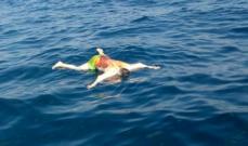 العثور على جثة رجل عائمة على سطح الماء قبالة جزر الميناء في طرابلس