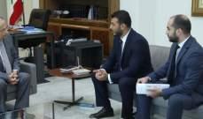 الرئيس عون استقبل رئيس اتحاد آسيا للفنون القتالية المختلطة