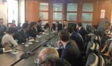 بطيش عرض ولازاريني بنود رؤية لبنان الاقتصادية بالتعاون مع ماكنزي