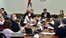 دياب هنأ لجنة متابعة الإجراءات الوقائية لكورونا: للتشدد بتطبيق التدابير في الأسبوعين المقبلين