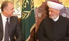 بوصعب: مؤمنون بالدولة اللبنانية والبيان الوزاري يعطينا حق الدفاع عن النفس