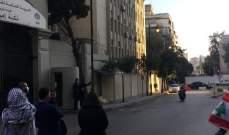 قطع الطريق أمام ثكنة الحلو احتجاجا على توقيف ناشطين منذ 3 اسابيع